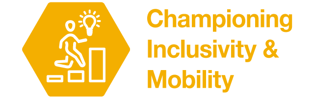 Championing inclusivity and mobility