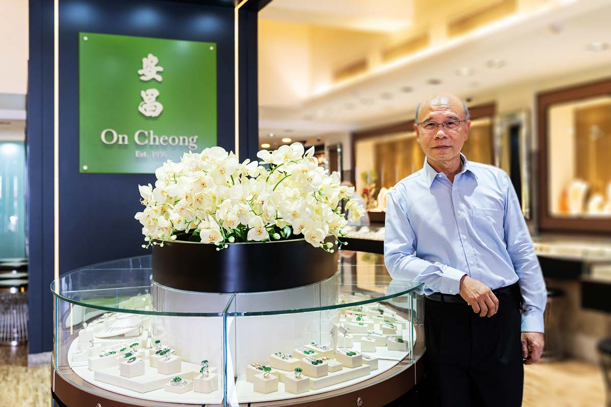 On Cheong Jewellery - Mr Ho Nai Chuen