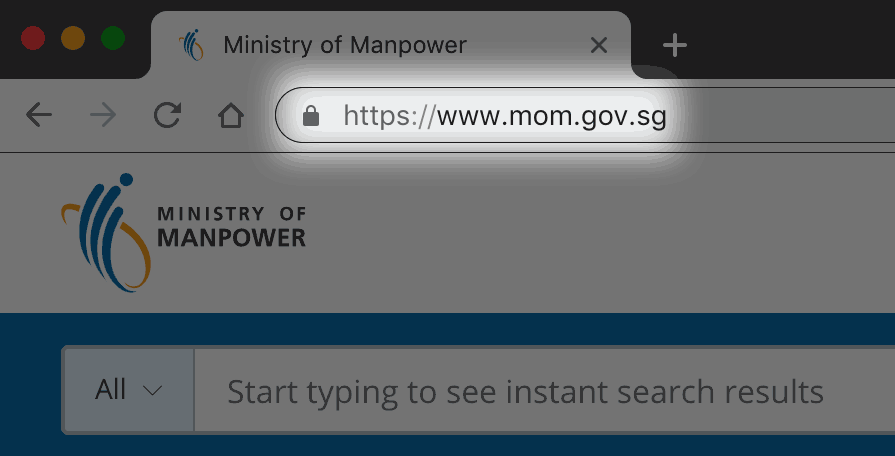 MOM's website URL