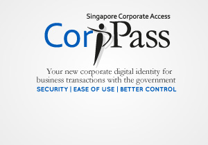 Register for CorpPass