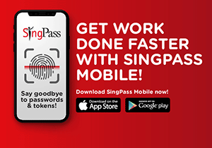 Download SingPass Mobile